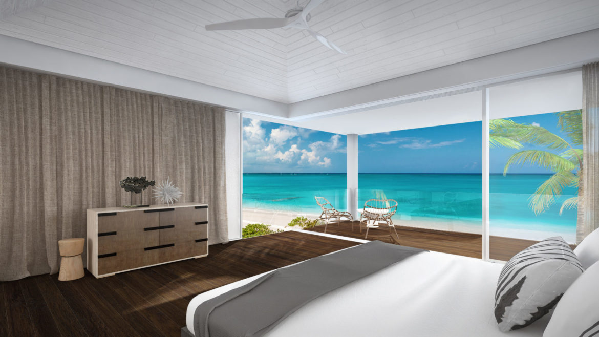 Beach-Enclave-Grace-Bay-Design-A-master-bedroom
